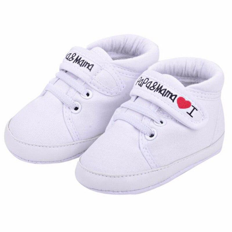 Zapatos de bebé niños, amor, mamá, informal, primeros caminantes, Infante, suela blanda, zapatillas, zapatos de bebé
