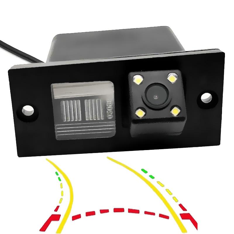 Intelligent Dynamic Trajectory Tracks Car Rear Camera For Hyundai Grand Starex Royale i800 H1 H-1 Travel Cargo iLoad iMax H300