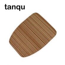Rabat en cuir rond tanqu pour poche O housse de sac motif Grain de bois à clapet avec fermeture à verrouillage magnétique pour OPocket Obag