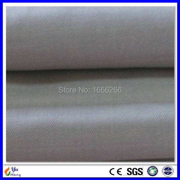 YSILVER78 # fibra de bambú plata blindaje conductor EMI tela