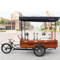 CT04B coffee bicycle food street for sale coffee snack bike on sale