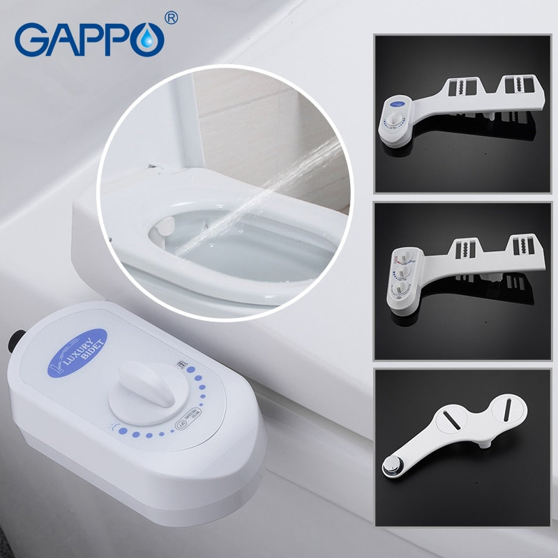 GAPPO المرحاض مقاعد 1 مجموعة أعلى جودة بيديت المرحاض غطاء مقعد الحمام بسيطة نظيفة المرحاض دش بيديت الحنفيات خلاط الصنابير Y8253