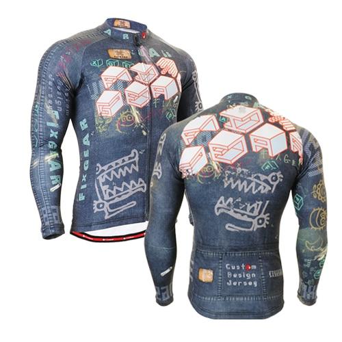 2016 marca zipper Up camiseta de ciclismo profesional manga larga jerseys bicicleta hombres sport tops cycle jacket 10 estilos ropa de bicicleta piel