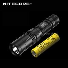 1800 lümen Nitecore EC23 CREE XHP35 HD E2 LED yüksek performanslı el feneri pil (IMR18650 2500mAh 35A)