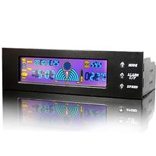 En gros STW 5023 lecteur optique ventilateur de tour dordinateur nset 5023 lcd 3 canaux ventilateur vitesse contrôleur livraison gratuite