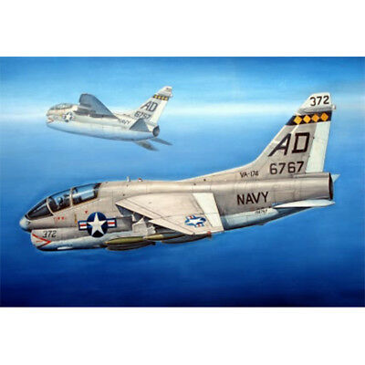 Trumpeter 87209 1/72 Aircraft American TA-7C II Fighter Attacker Model TH06252-SMT2 artwox trumpeter 05607 u s cv 3 saratoga aircraft carrier wooden deck aw10120