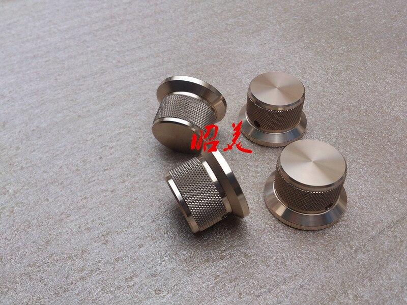 مقبض الصوت مصنوع من سبائك الألومنيوم ، قطر 38 ساق ، 30 ارتفاع 25 ، 38x30x25 مم-10p
