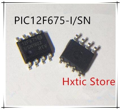 10 unids/lote PIC12F675-I/SN PIC12F675-I PIC12F675 12F675-I/SN SOP8