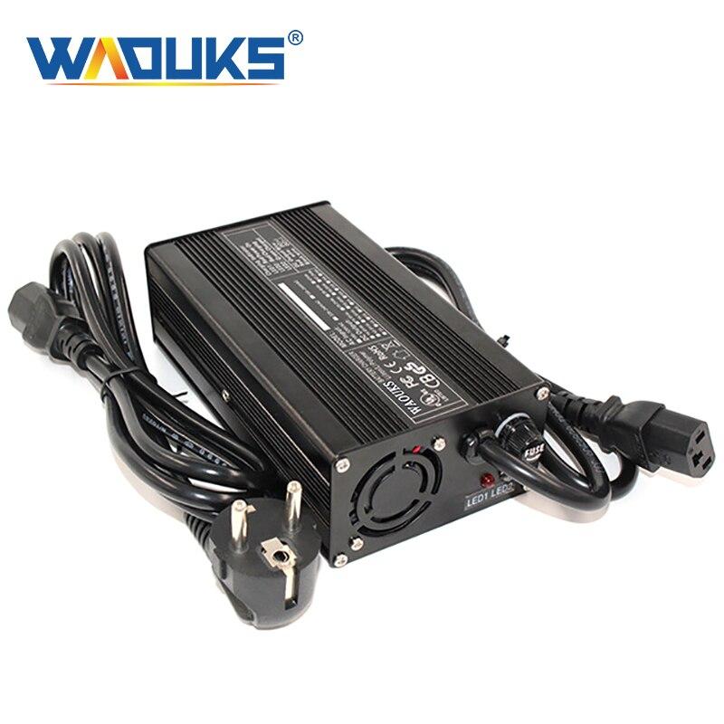 Cargador de batería de plomo y ácido de 24V y 8 a para Scooter de movilidad de 24V cargador de silla de ruedas con salida de 27,6 V y 8 a