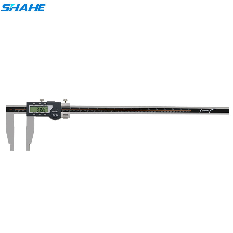 Calibrador Digital SHAHE de acero inoxidable, calibrador Vernier de 500mm, herramienta de medición de Paquimetro, calibrador Digital