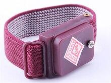 Sans fil Sans Fil Réglable Anti Statique Bracelet Électrostatique ESD Décharge Câble Bracelet Dragonne Avec De Rechange Bracelet