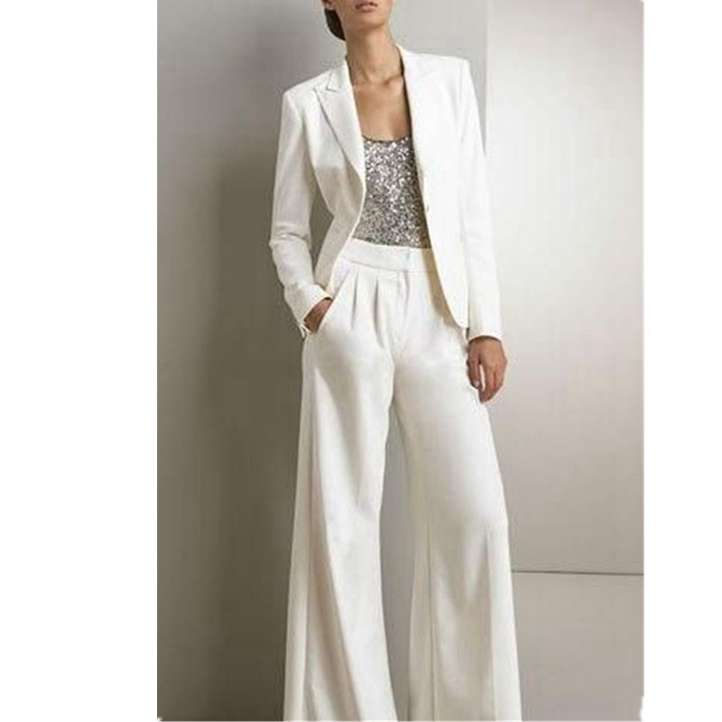 Брючный костюм женский, Деловой, офисный, пиджак + брюки, на заказ