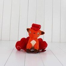 1 pièces 16 cm Anime Vulpix peluche jouet Animal renard peluche doux poupées grands cadeaux