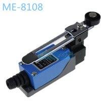 ME-8108 rotatif AC380V 6A 250V 10A   Interrupteur de limite momentanée étanche réglable et étanche, bras Yype levier de rouleau pour moulin à bois Laser Plasma