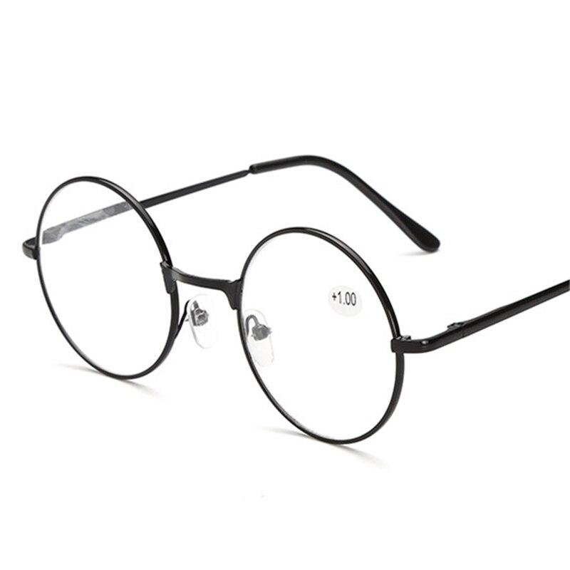 Gafas caleidoscópicas Vintage redondas de Metal, gafas de primavera, gafas de lectura Retro Para hombres y mujeres, gafas de espejo con marco de Metal, gafas rojas