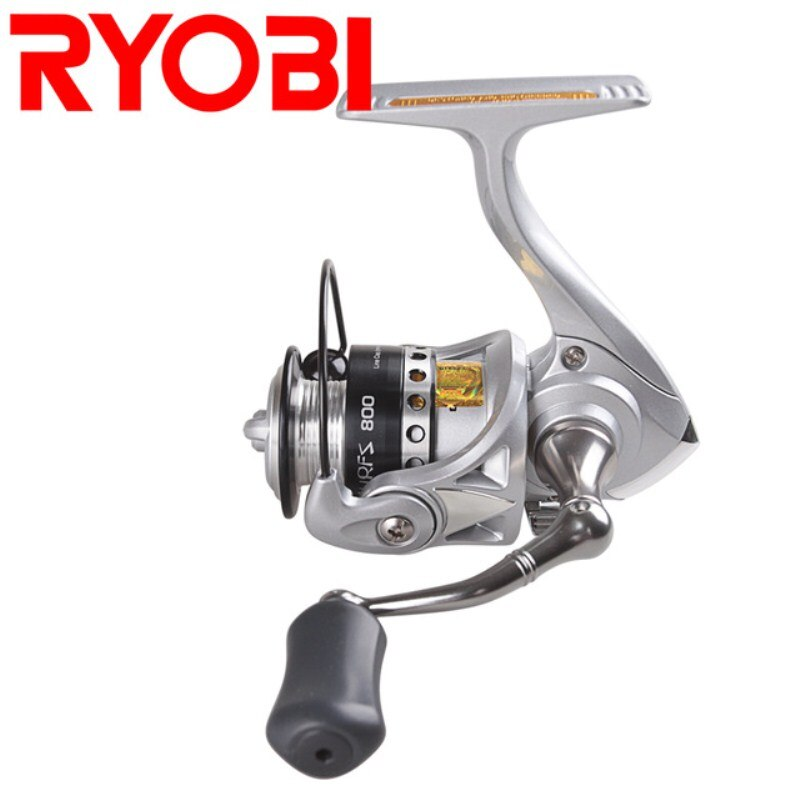 Hot! RYOBI Spinning Fishing Reel 5.2:1/3+1BB 500/800 Size Molinete Para Pesca Moulinet Peche Steering Wheel Feeder
