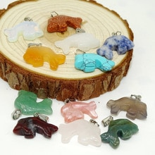 Mixte couleur naturel pierre mer dauphin pendentif DIY collier bijoux pendentif dauphin pierres pierre ornements en gros