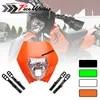 4 color Motorcycle Dirt Bike Motocross Supermoto Universal Headlight Fairing KTM SX EXC