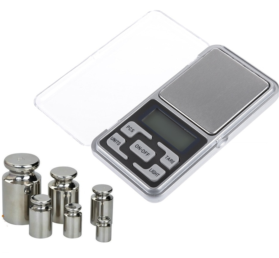 200g/300g/500g x 0.01g Mini Pocket Digital Scale for Gold Sterling Silver Jewelry Scales Balance Gra