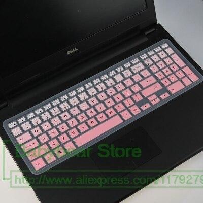 15,6 pulgadas cubierta de teclado del ordenador portátil Protector para Dell inspiron 7559 15 7000, 3543, 3559, 3558, 5559, 3000, 5000 15CR serie 15cr-4528b