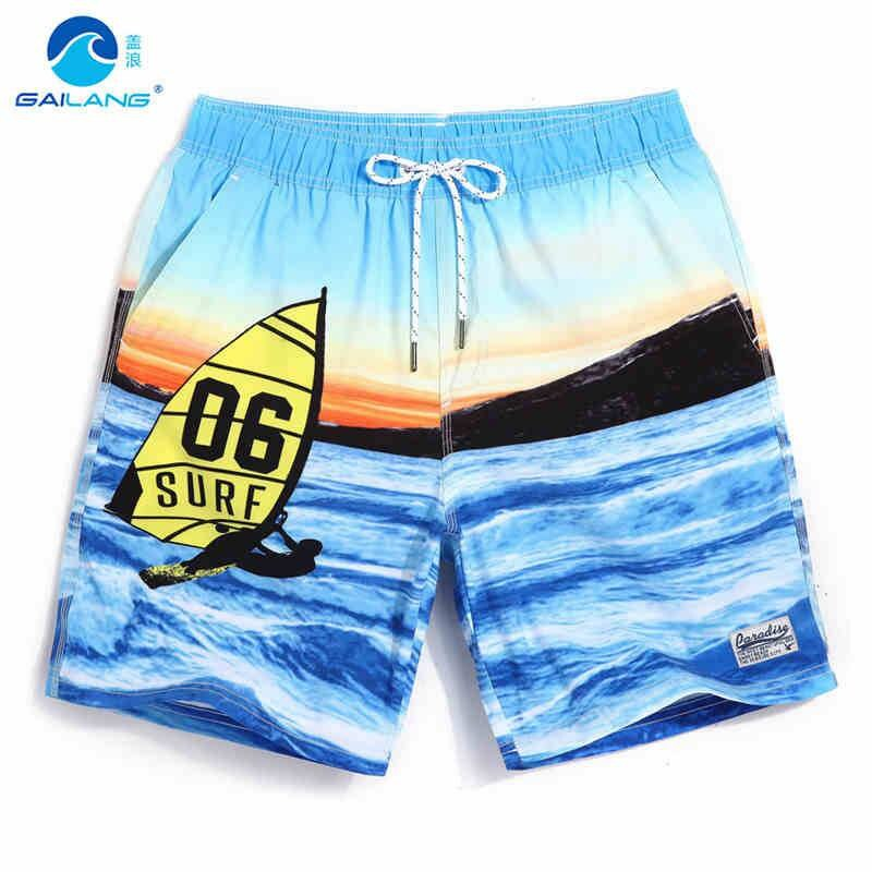 GL Brand New Quick Drying Men's Swimming Shorts Water Sportswear Mens Jogger Short Athletic Swim Surf Board Plus Size Man Shorts