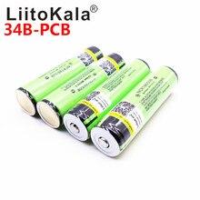 Gorący oryginalny LiitoKala chroniony 100% oryginalny NCR18650B 18650 3400mah akumulator z 3.7V PCB dla
