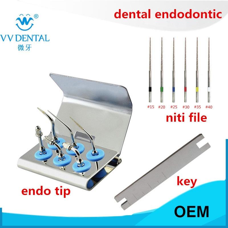 Стоматологические ультразвуковые эндододонтические наконечники, комплект для отбеливания зубов, пилочки для корневых каналов, для EMS, аппа...