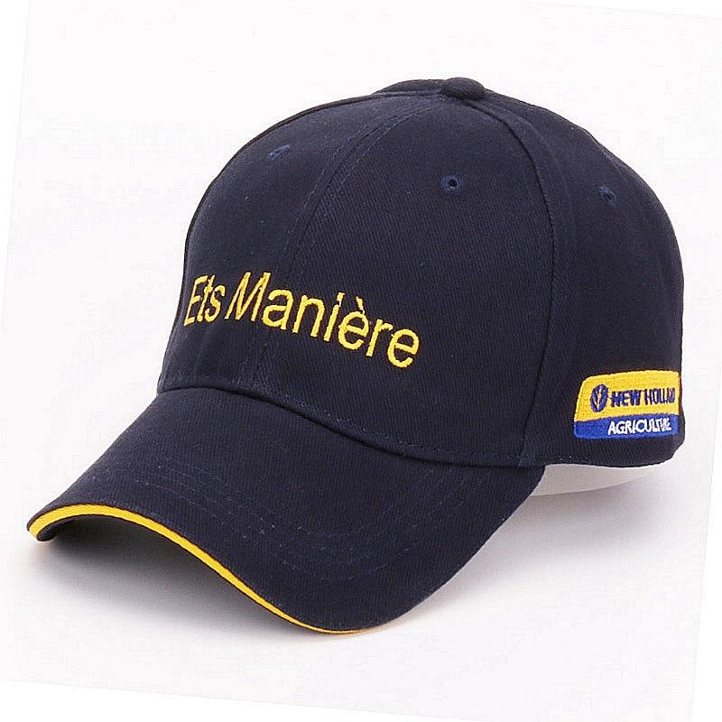 [HATLANDER]Casual Promotion Navy cotton baseball caps for mens outdoor sports hats women gorras casquette hip hop letter hat cap