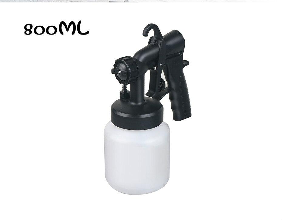 Pistola de aire profesional HVLP de 800ml, pulverizador de pintura por gravedad para compresor, pintura de aerógrafo, pistola, pulverizador de pintura Hvlp