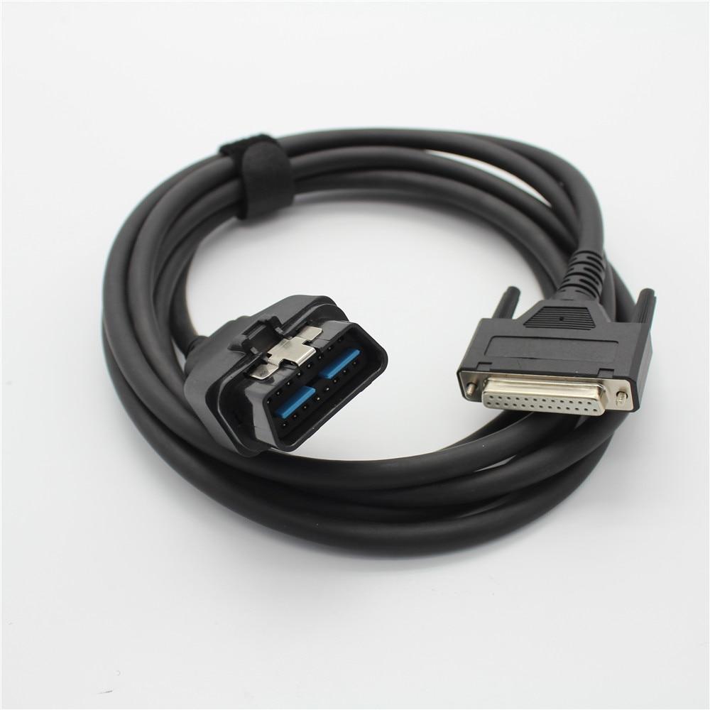 Диагностические инструменты автомобильные кабели OBDII 16-контактный obd2 16pin МИАН кабель 25pin сканер инструмент разъем для Honda тесты кабель