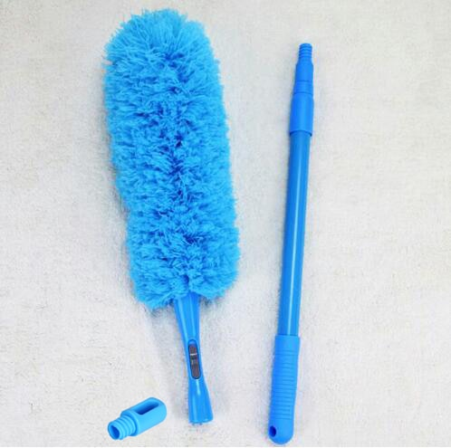 Чистящий Пыльник из микрофибры, съемный, масштабируемый, гибкий, моющийся, потолочный вентилятор, кондиционирование воздуха, автомобильная мебель, пылеочиститель, 3 столба