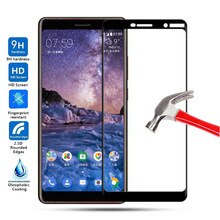 2.5D Full Cover Screen Protector For Nokia 7 Plus Glass Tempered Glass sFor Nokia 7 Plus Glass For N