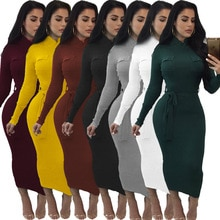 Adogirl Women Knitted Dress