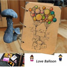 NEW Retro DIY Scrapbook Photo Album Weeding Travel Baby Album Craft Handmade Craft Paper Wedding Memory Photo Album