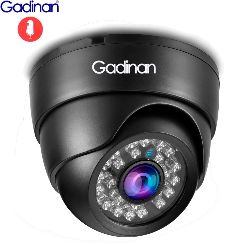 Gadinan IP Kamera 5MP 2592*1944P SONY IMX335 Hi3516E Nachtsicht Audio Dome 4MP 2MP Volle HD PoE sicherheit Überwachung Kamera