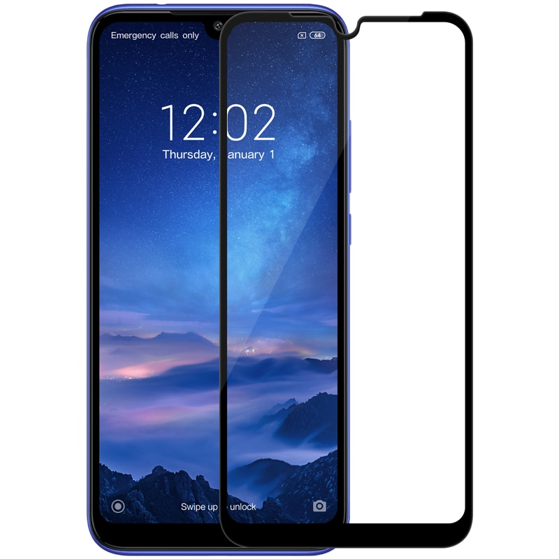Protector de pantalla de vidrio para Xiaomi Redmi note 7 Nillkin Anti-explosión CP + 2.5D de la cubierta completa Redmi 7 pro templado protector de la película