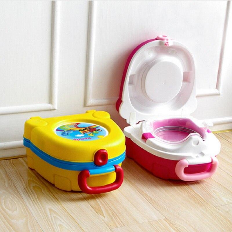 Новинка 2018, детские дорожные мини-горшки, портативные детские туалетные принадлежности