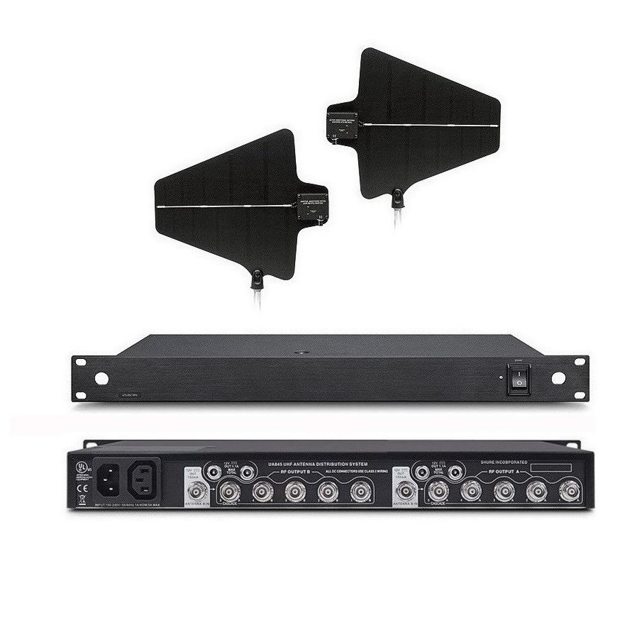 Boly Wideband активная антенна сплиттер W антенна дистрибьютор для SKM9000 беспроводной микрофон караоке для сценического театра