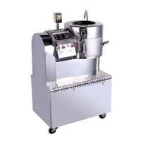 Stainless steel Potato mill cut machine commercial peeling machine slicer cutting machine cleaning slice cutting machine 750W