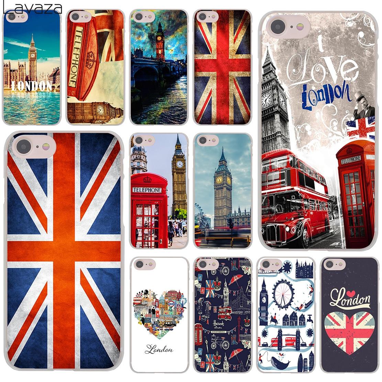 Lavaza capa protetora para iphone, case protetor, bandeira, reino unido, londres, para iphone xr, x, 11, pro, xs, max, 8, 7, 6 6 s 5 5S se 4S 4 10