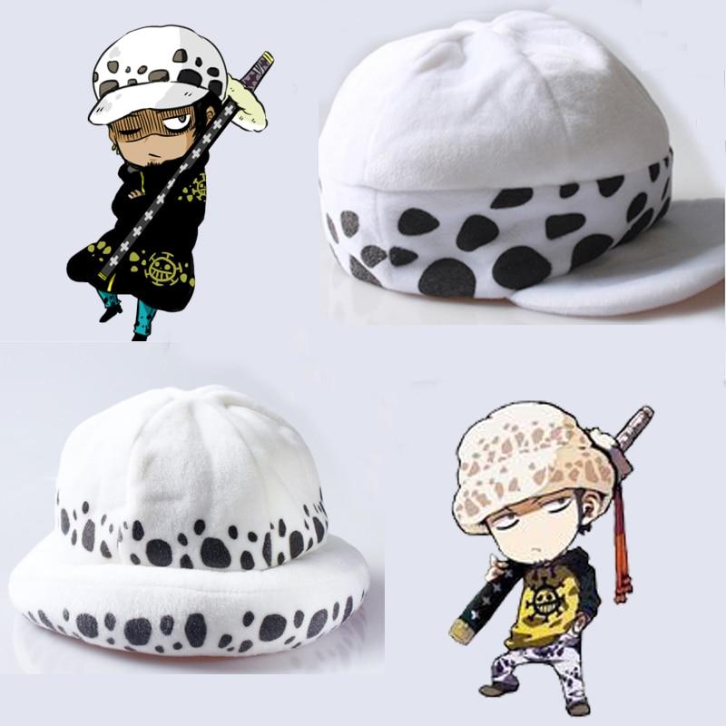 Anime une pièce Trafalgar loi Cosplay chapeau mort chirurgien deux ans plus tard cadeau dessin animé hiver 2 version