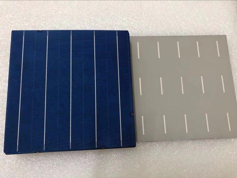 ¡Promoción! 50 Uds 18.8% 4,6 W 156mm 5BB Solar policristalino de celular para el panel solar de bricolaje