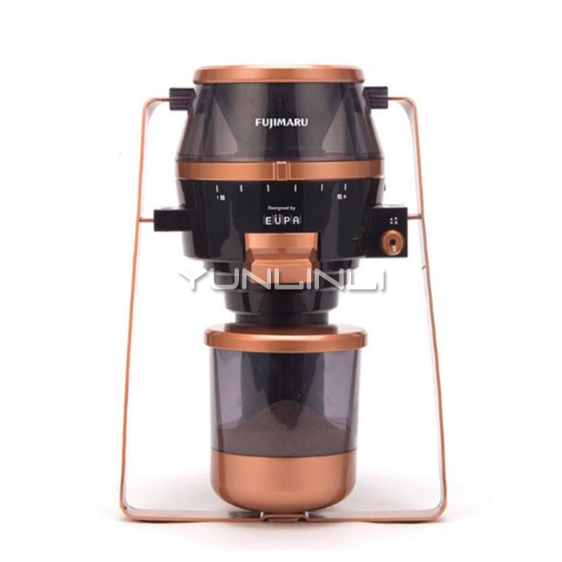 Electric Coffee Bean Grinder Household 80W Grain Mill 6-speed Grinding Machine Home Office Molinillo Cafe TSK-9288P