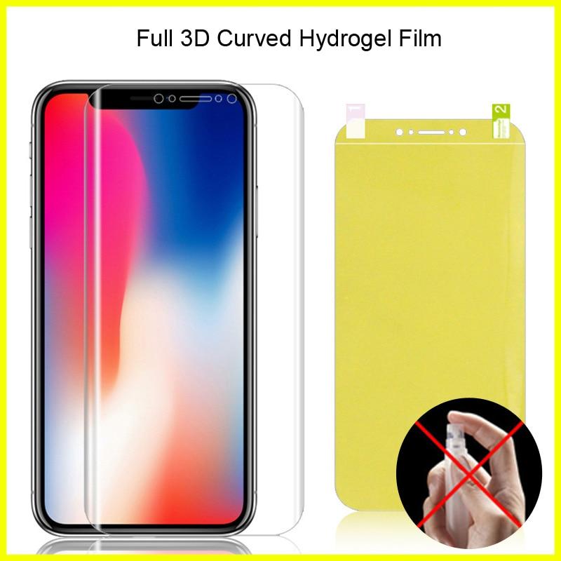 Cobertura completa para Meizu 6T película de hidrogel película protectora de pantalla de TPU blando para Meizu Meilan M6T/MT6750