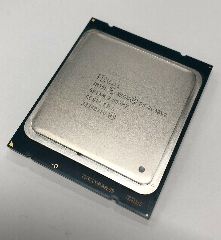 Intel Xeon E5 2630 V2 procesador 2,6 GHz 15M Cache LGA 2011 SR1AM E5-2630 V2 CPU del servidor