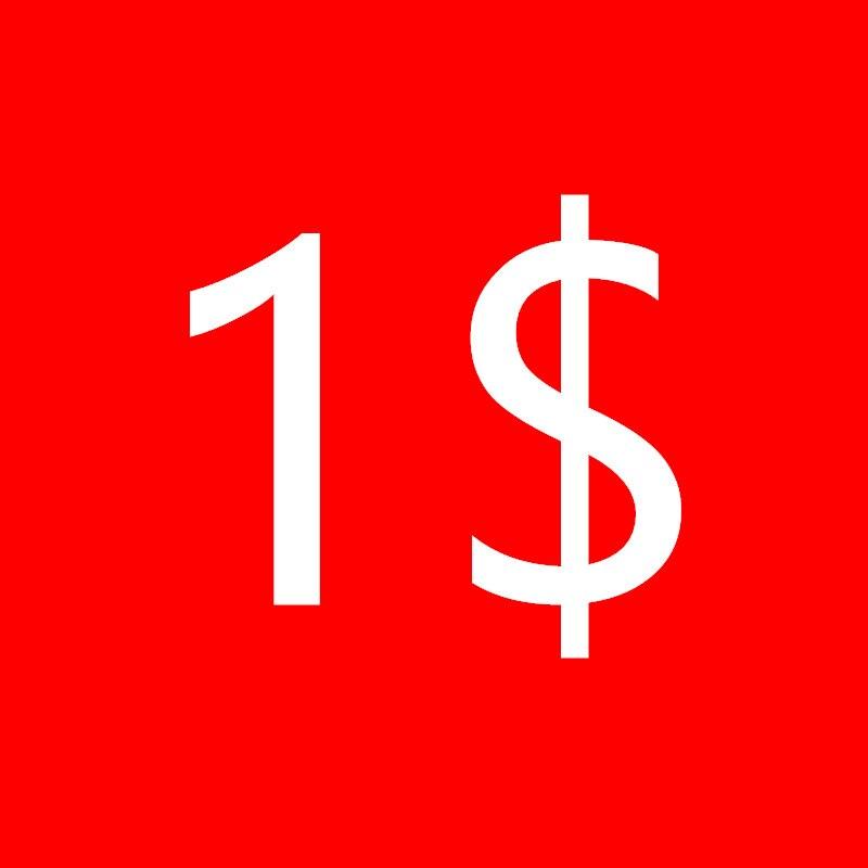 Дополнительная стоимость доставки 1 долл. США/шт.
