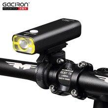 GACIRO V9C-400 phare de vélo 400Lumens vélo avant éclairage guidon montage rapide XPG lampe à LED 2500mAH batterie USB Charge