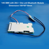 14S 58.8 فولت بطارية ليثيوم أيون الذكية بلوتوث البرمجيات BMS مع 20 إلى 60A تيار مستمر ل سكوتر كهربائي يبو أو 18650 بطارية