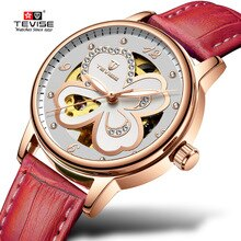 Women Watches TEVISE T835 Mechanical Automatic Watch Women Water Resistant Lumious Ladies Watch Fash