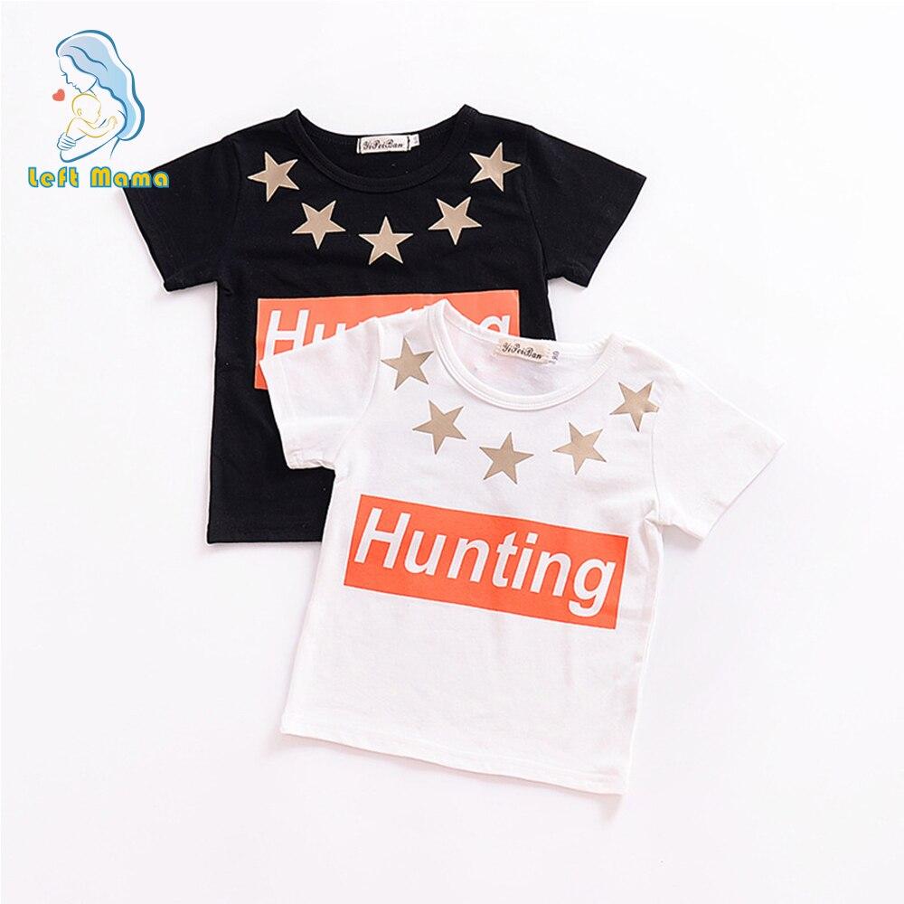 Одежда для малышей футболка мальчиков хлопка с коротким рукавом Топ девочек